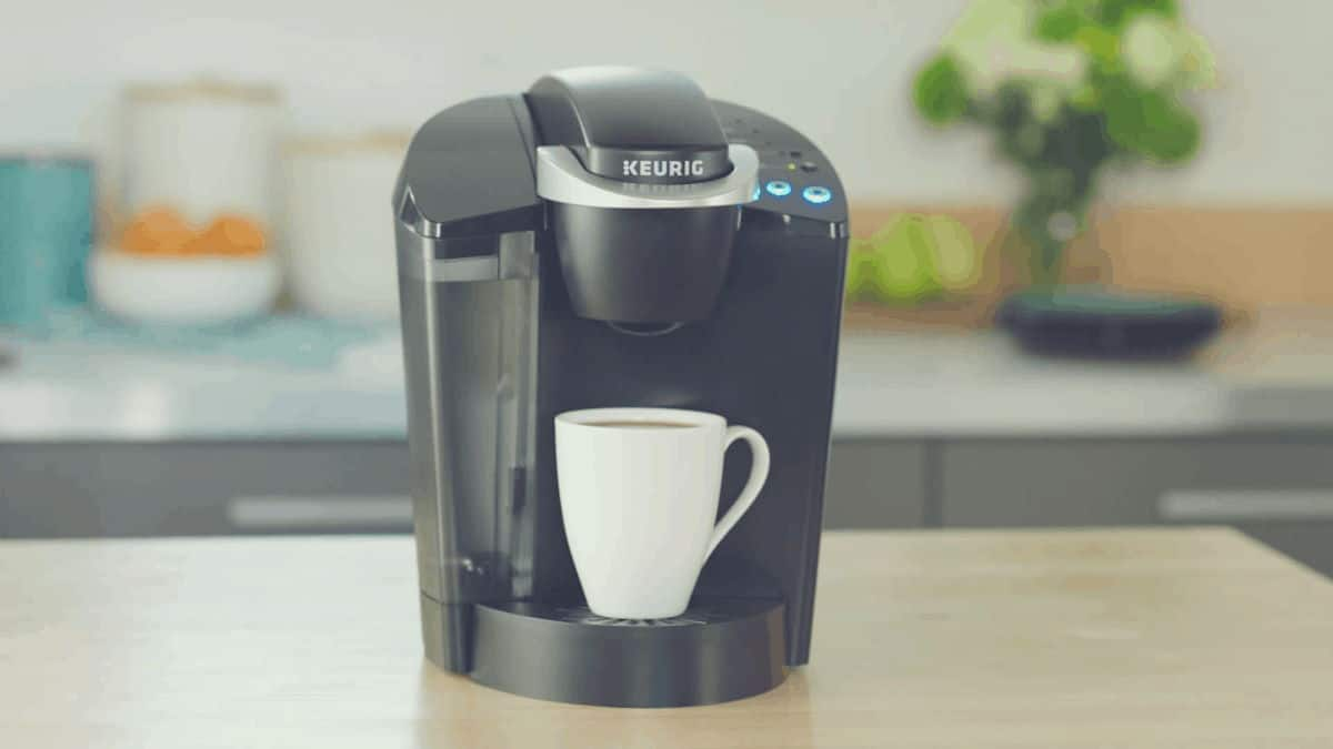 Promotional shot of the Keurig K55 Classic Coffee Maker