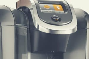 Close up of the Keurig K575