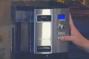 A close up of the Cuisinart DCC-3000 Coffee on Demand 12 Cup machine