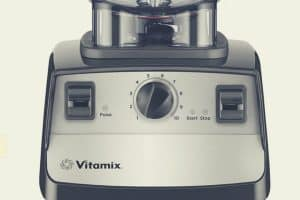 A close up shot of the Vitamix 5300 power base